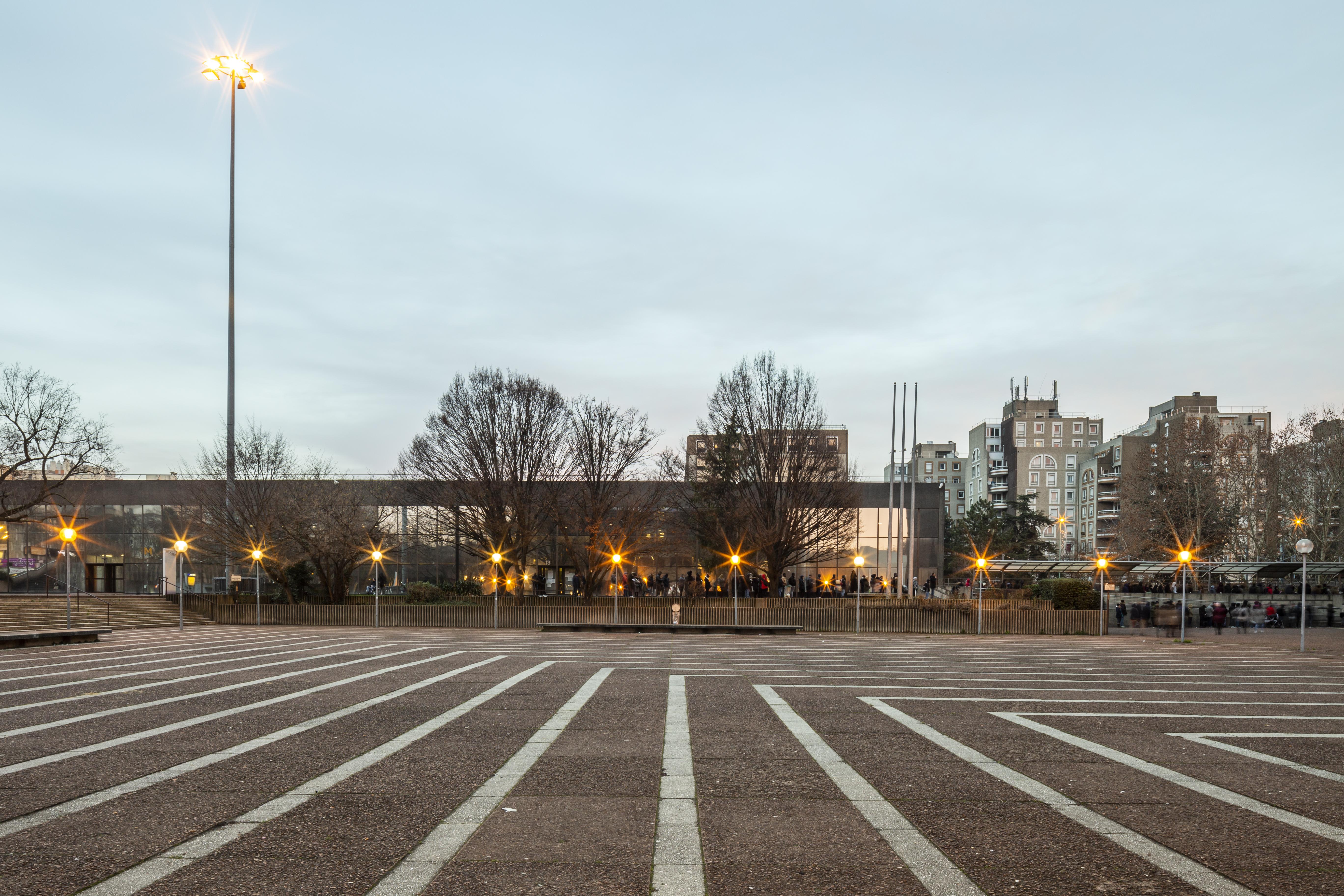18.01.2019. Esplanade Jean Moulin, Bobigny. Pour la SGP.